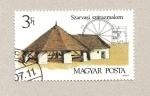 Stamps Hungary -  Casa campestre