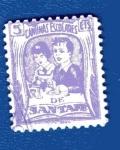 Stamps Spain -  sobretasa - Santafé (Granada)