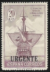 Sellos de Europa - España -  Stern of Santa María