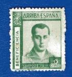 Sellos de Europa - España -  sobretasa - Pizarra (Málaga)