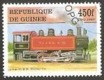Stamps : Africa : Guinea :  Locomotora Porter