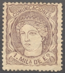 Stamps Spain -  Efigie