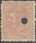 Stamps Spain -  Alfonso XII