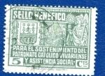 Sellos de Europa - España -  sobretasa - Vivero (Lugo)