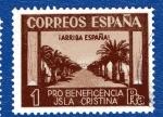 Stamps Spain -  sobretasa - Isla Cristina (Huelva)