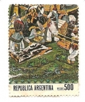 Sellos del Mundo : America : Argentina :  Colonial