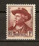 Sellos de Europa - Francia -  Frederic Mistral.
