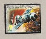 Sellos de Africa - Guinea Ecuatorial -  Pagaron con su vida la exploración espacial