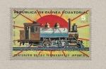 Stamps Equatorial Guinea -  100 aniv. ferrocarriles japoneses