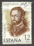 Stamps : Europe : Spain :  Tomas de Acosta. Hispanidad Costa Rica