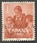 Stamps : Europe : Spain :  III Centenario de la muerte de San Vicente de Paul