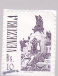 Sellos de America - Venezuela -  monumento