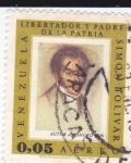 Stamps Venezuela -  libertador y padre de la patria-Simón Bolívar