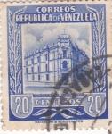 Stamps Venezuela -  oficina principal de correos de Caracas