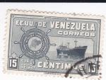 Sellos de America - Venezuela -  Flota mercante  Gran Colombiana