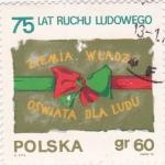 Stamps Poland -  oswiata dla ludu