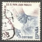 Stamps Spain -  Visita de S.S. el Papa Juan Pablo II