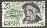 Stamps Spain -  Personajes Españoles. Pio Baroja