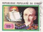 Sellos de Africa - República del Congo -  Premio nobel de literatura 1927- Henri Bergson