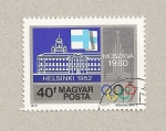 Stamps Hungary -  Olimpiadas Helsinki y Moscú