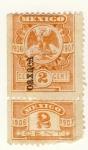 Sellos de America - México -  Edicion 1906