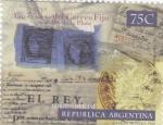 Sellos de America - Argentina -  250 aniversario del correo fijoen el Rio de la Plata