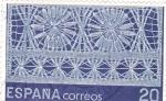 Sellos de Europa - España -  artesanía española-encajes