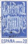 Stamps Spain -  patrimonio cultural de la humanidad-Catedral de Burgos