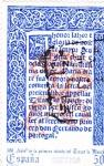 Sellos de Europa - España -  500 aniv.de la primera edición de Tirant lo Blanch