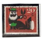 Stamps : Europe : Germany :  Cuentos - Caperucita Roja  3/4