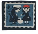 Stamps : Europe : Germany :  Cuentos - Caperucita Roja  4/4