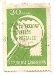 Stamps : America : Argentina :  Coleccion de sellos postales