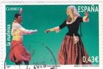 Stamps Spain -  bailes y danzas populares- la mateixa