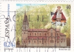 Stamps Spain -  Basílica de Covadonga