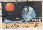 Stamps Spain -  Expo-92 Sevilla