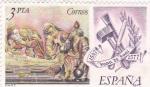 Sellos de Europa - España -  Juan de Juni 1507-1577