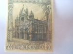 Stamps San Marino -  gran sello