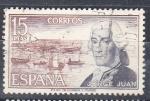 Sellos de Europa - España -  E2182 Jorge Juan (471)