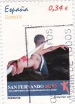 Sellos de Europa - España -  san Fernando 2010  atletismo