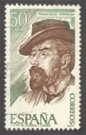 Stamps Spain -  Personajes Españoles. Francisco Tarrega