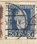 Stamps Germany -  Union Postal