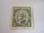 Stamps America - Cuba -   una cubana