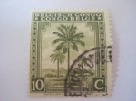 Stamps Republic of the Congo -  una lejana