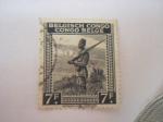 Stamps Africa - Republic of the Congo -  soldado