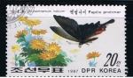 Sellos del Mundo : Asia : Corea_del_norte : Papilo protenor