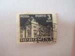 Stamps Europe - Romania -  posta porto