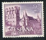 Sellos de Europa - España -  1739-  Castillos de España. Alcázar de Segovia.