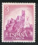 Sellos de Europa - España -  1745-  Castillos de España. Almansa ( Albacete ).