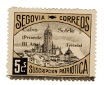 Sellos de Europa - España -  sobretasa - Segovia