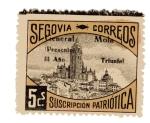 Stamps Spain -  sobretasa - Segovia